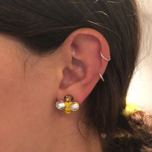 Betsey Johnson Jewelry - Betsey Johnson Bee Stud Earrings